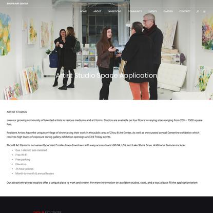 Artist Studio Space Application
