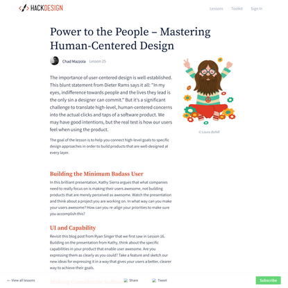 Power to the People – Mastering Human-Centered Design