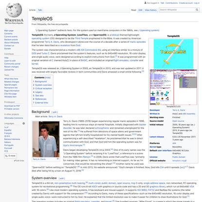 TempleOS - Wikipedia