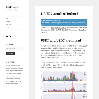 Is USDC another Tether?