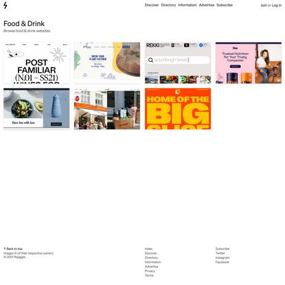 Food & Drink Websites — Godly Website