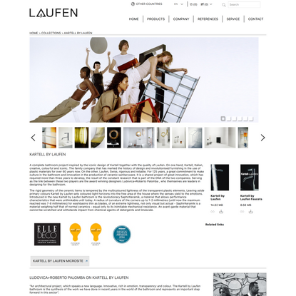 KARTELL BY LAUFEN | TOTAL BATHROOM SETS | Collections | Laufen