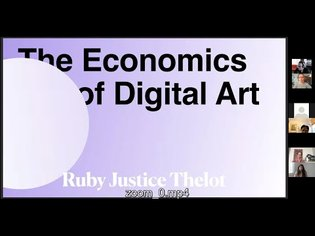 The Economics of Digital Art with Justice Thelot