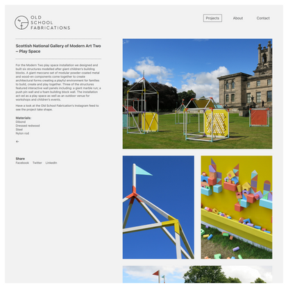 Scottish National Gallery of Modern Art Two – Play Space
