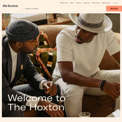 The Hoxton: Open House Hotels in London, Europe and USA