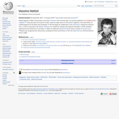 Massimo Mattioli - Wikipedia