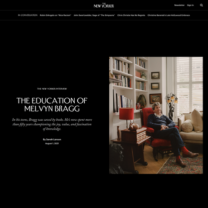 The Education of Melvyn Bragg