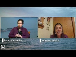 Winona LaDuke speaks with Sarah Alexander about food sovereignty - College of the Atlantic 2021 Summer Institute