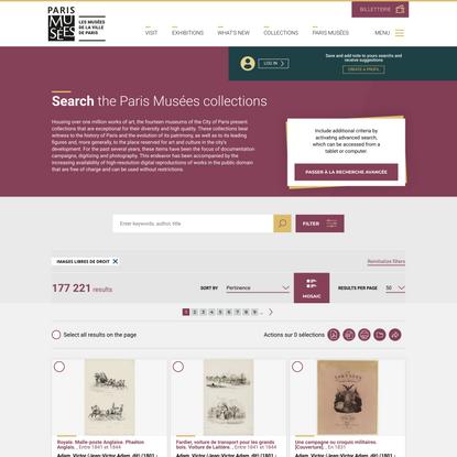 Search   Paris Musées