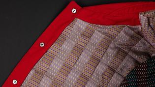 Bu Gao Li, lined & padded jacket (3/4)