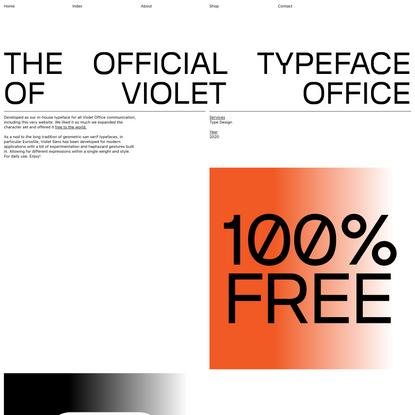 Violet Sans | Violet Office
