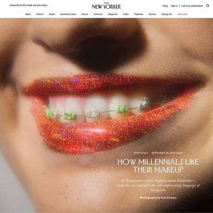 How Millennials Like Their Makeup