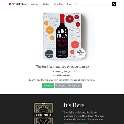 Book: The Essential Guide To Wine   Wine Folly