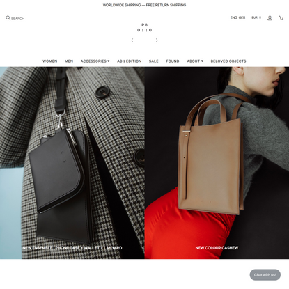 PB 0110 - leather bags & accessories by Philipp Bree