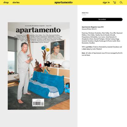 Apartamento Magazine issue #14