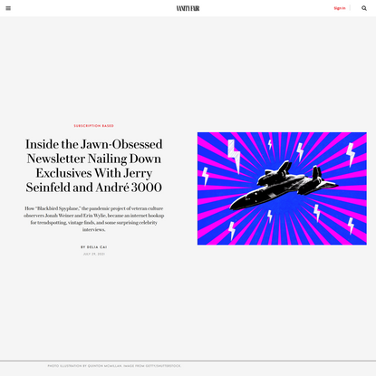 Inside the Jawn-Obsessed Newsletter Nailing Down Exclusives With Jerry Seinfeld and André 3000