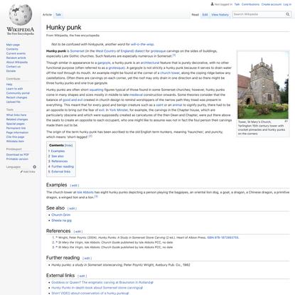 Hunky punk - Wikipedia