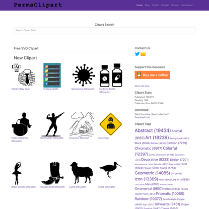 PermaClipart – Free Creative Commons Clipart