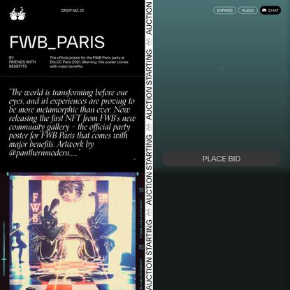 $FWB Gallery – FWB Paris NFT
