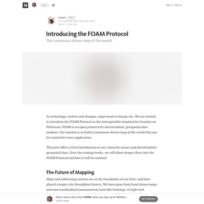 Introducing the FOAM Protocol - FOAM