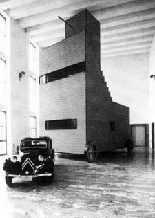 John Hejduk, Mobile Housing Unit, Milan Triennale, Milan, Italy, 1986