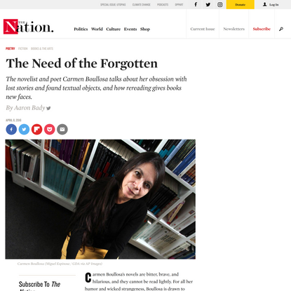 The Need of the Forgotten
