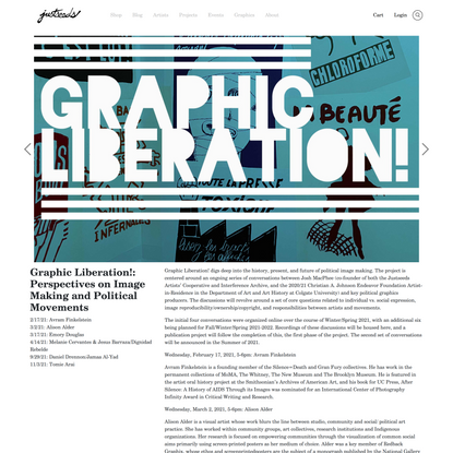 Graphic Liberation!: Perspectives on Image Making and Political Movements
