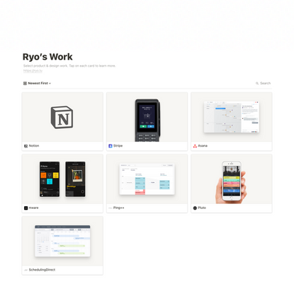 Ryo's Work