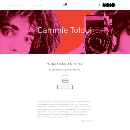 Cammie Toloui – 5 Dollars for 3 Minutes