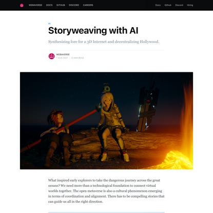 Storyweaving with AI