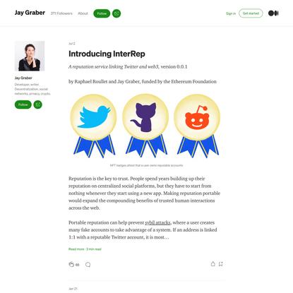 Jay Graber – Medium