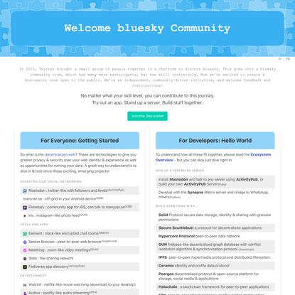 bluesky Community