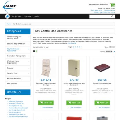 Key Control | MMF Industries