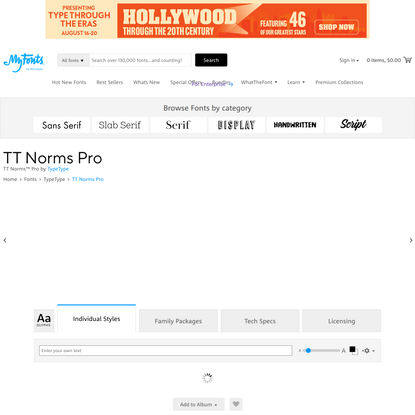 TT Norms Pro Font | Webfont & Desktop | MyFonts
