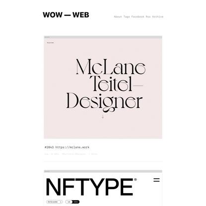 WOW — WEB