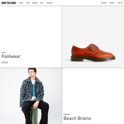 Above The Clouds | Globally Curated Fashion, Footwear & Accessories