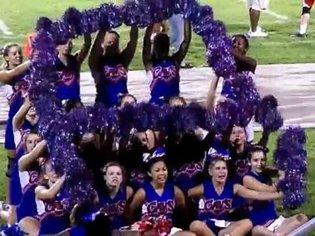 Princess Anne High Cheerleaders 2012
