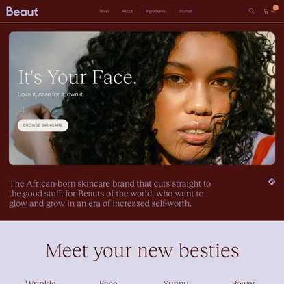 Beaut Serums - The African-Born Skincare Brand