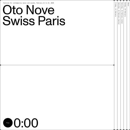 Oto Nove Swiss Paris