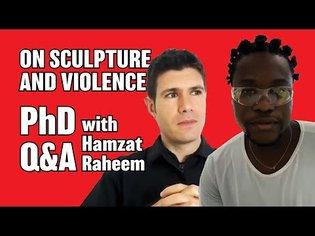 On Sculpture and Violence | Public PhD defense | Part 7 - Q&A with Hamzat Raheem