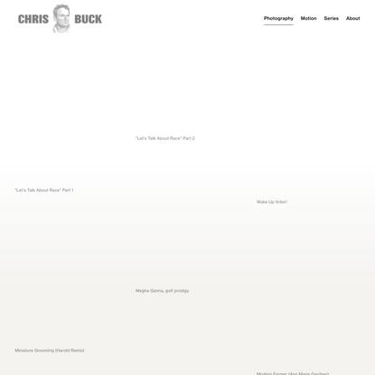 Conceptual — Chris Buck - Photographer / Director