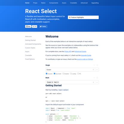 React-Select