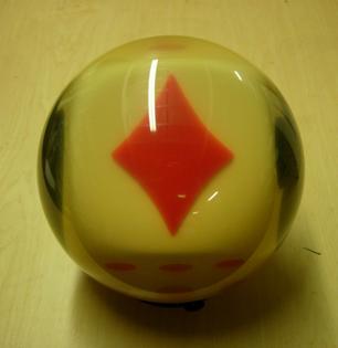 The Gambler bowling ball