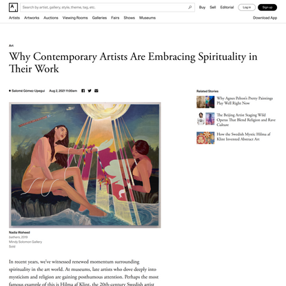 Why Contemporary Artists Are Embracing Spirituality in Their Work
