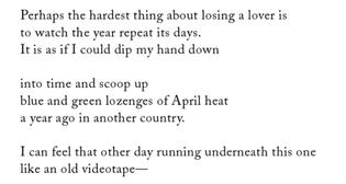 """∆ Anne Carson, from """"The Glass Essay"""", Glass, Irony, and God"""