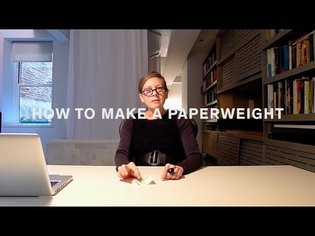 YourCribs #1: How to Make a Paperweight with Keller Easterling
