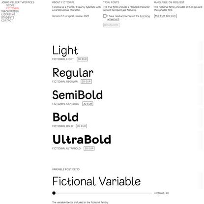 Jonas Pelzer Typefaces
