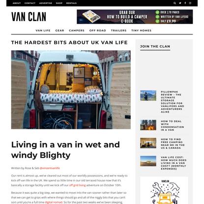 The Hardest Bits About UK Van Life