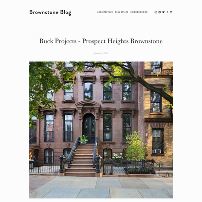 Buck Projects - Prospect Heights Brownstone — Brownstone Blog