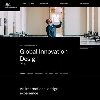 Global Innovation Design